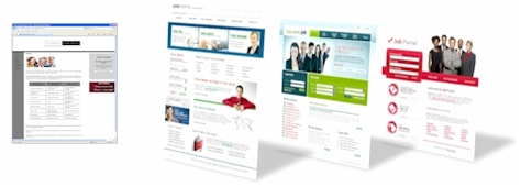 Website Design Before and After - LCR MultiMedia